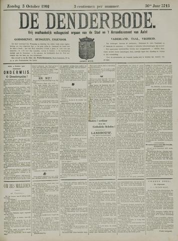 De Denderbode 1902-10-05
