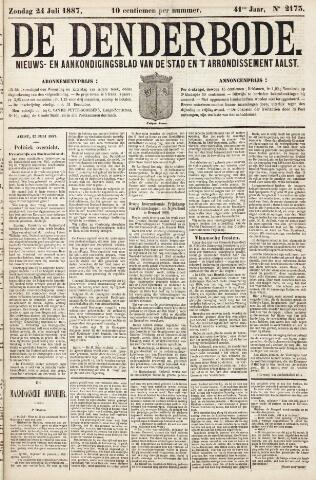 De Denderbode 1887-07-24