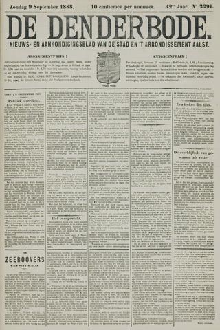 De Denderbode 1888-09-09