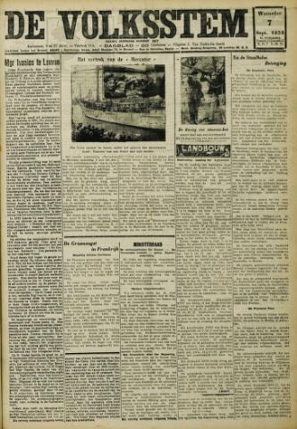 De Volksstem 1932-09-07
