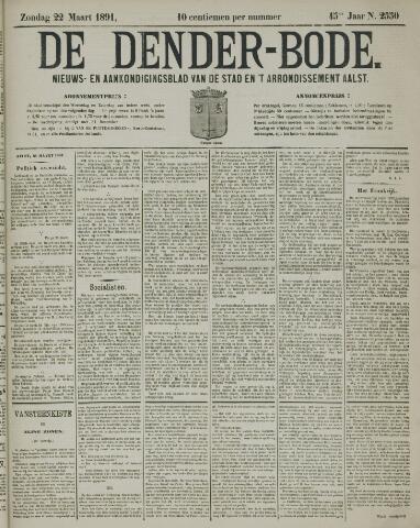 De Denderbode 1891-03-22