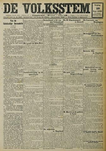 De Volksstem 1926-09-10
