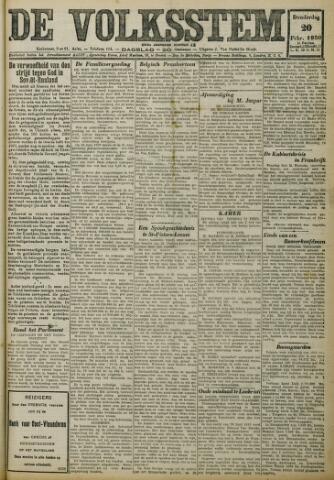 De Volksstem 1930-02-20