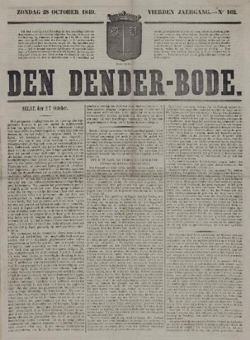 De Denderbode 1849-10-28