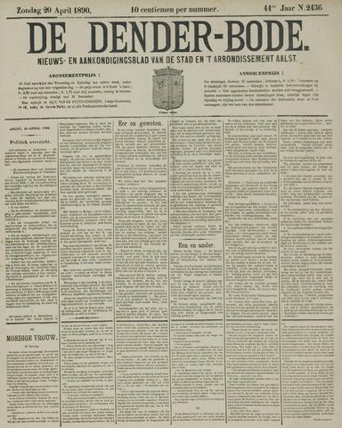 De Denderbode 1890-04-20