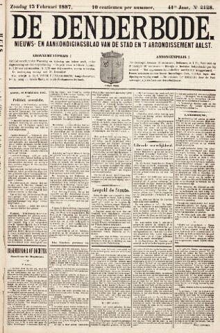 De Denderbode 1887-02-13