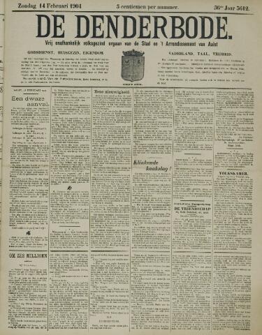 De Denderbode 1904-02-14