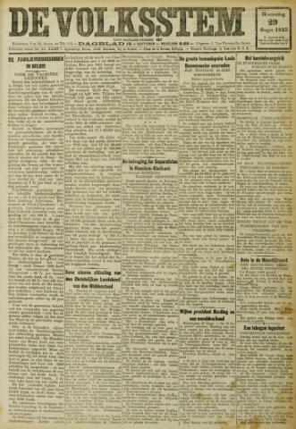 De Volksstem 1923-08-29