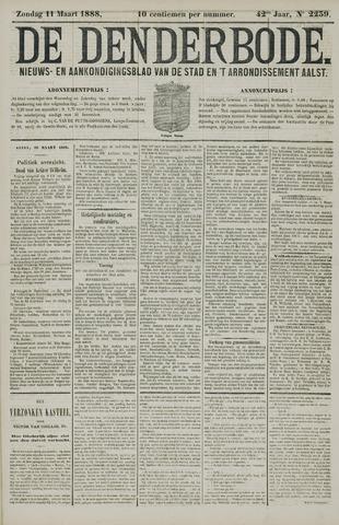 De Denderbode 1888-03-11