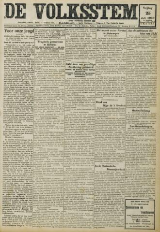 De Volksstem 1930-07-25