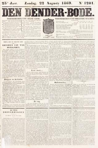 De Denderbode 1869-08-22