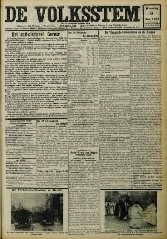 De Volksstem 1932-11-09