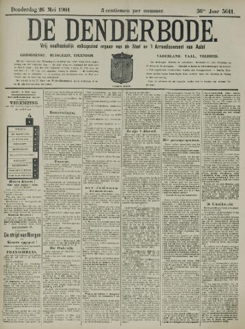De Denderbode 1904-05-26