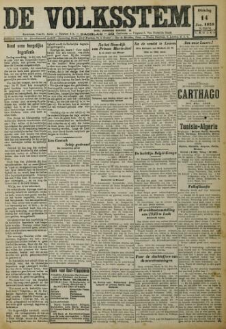 De Volksstem 1930-01-14