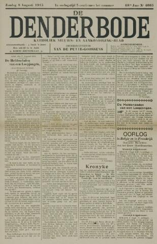 De Denderbode 1915-08-08