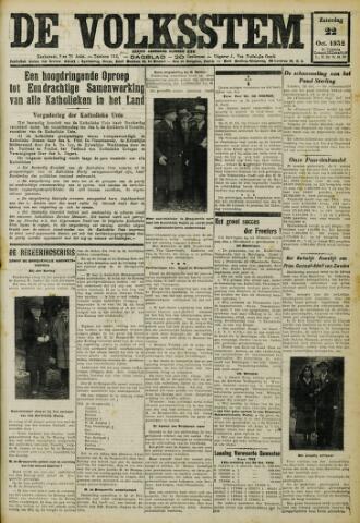 De Volksstem 1932-10-22