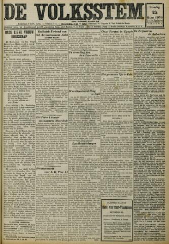 De Volksstem 1930-03-25
