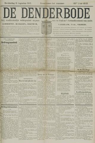 De Denderbode 1912-08-08