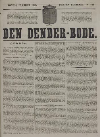 De Denderbode 1850-03-17
