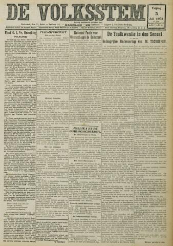 De Volksstem 1931-07-03