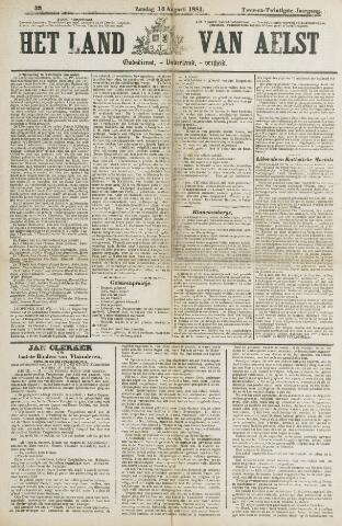 Het Land van Aelst 1881-08-14