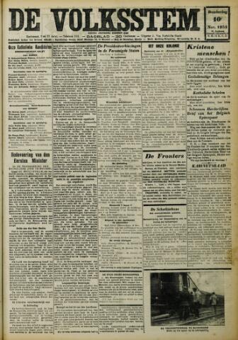 De Volksstem 1932-11-10