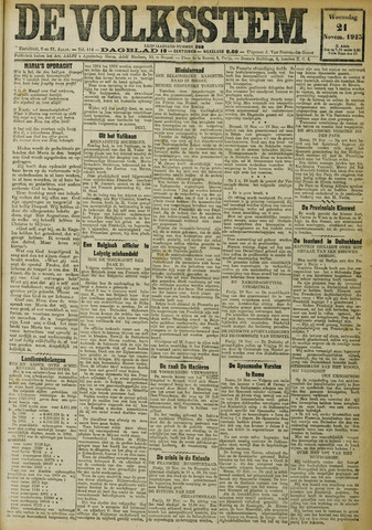 De Volksstem 1923-11-21