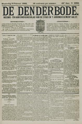 De Denderbode 1888-02-09