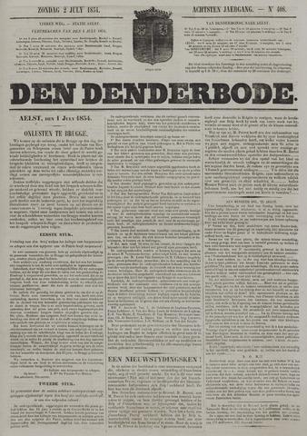 De Denderbode 1854-07-02