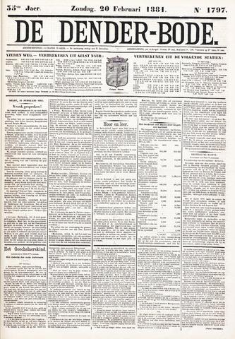 De Denderbode 1881-02-20