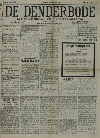 De Denderbode 1916-07-09