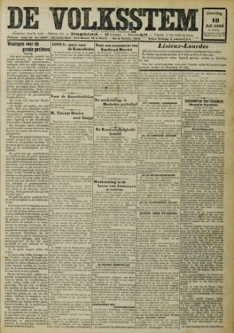 De Volksstem 1926-07-10