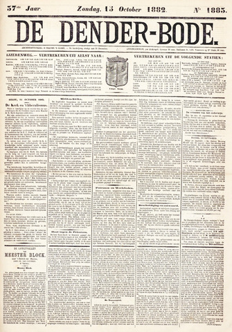 De Denderbode 1882-10-15
