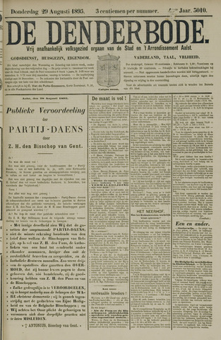 De Denderbode 1895-08-29
