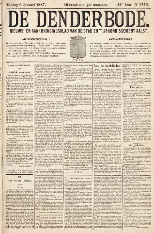 De Denderbode 1887-01-09