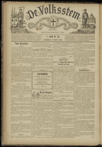 De Volksstem 1895-08-31