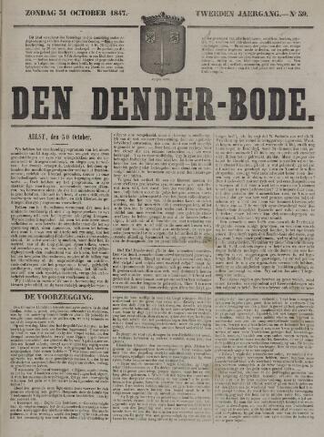 De Denderbode 1847-10-31