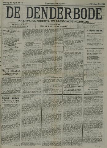 De Denderbode 1916-04-16