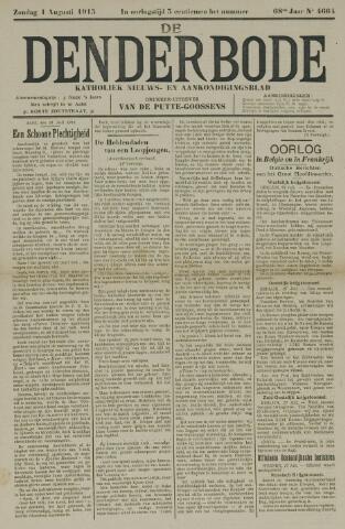 De Denderbode 1915-08-01