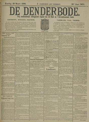 De Denderbode 1896-03-29
