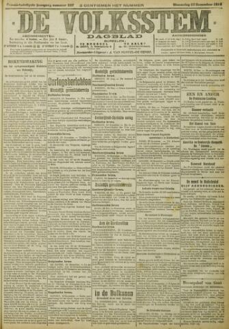 De Volksstem 1915-12-22