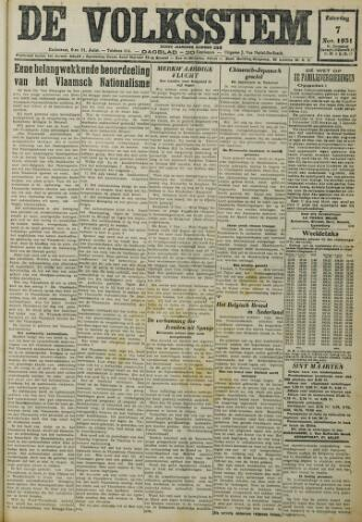 De Volksstem 1931-11-07