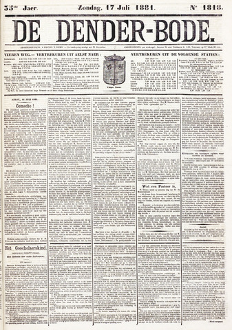 De Denderbode 1881-07-17