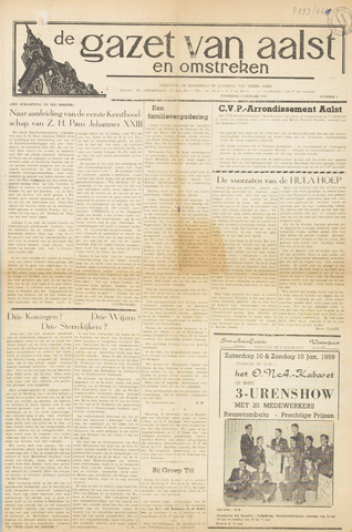 De Gazet van Aalst 1959