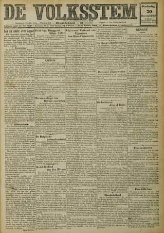 De Volksstem 1926-12-30