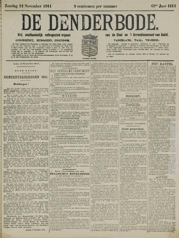 De Denderbode 1911-11-12