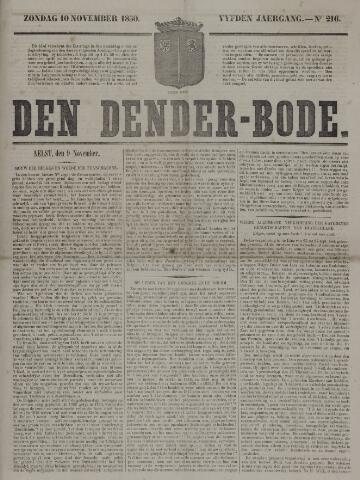 De Denderbode 1850-11-10