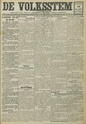 De Volksstem 1931-12-10