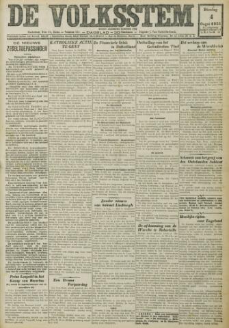 De Volksstem 1931-08-04
