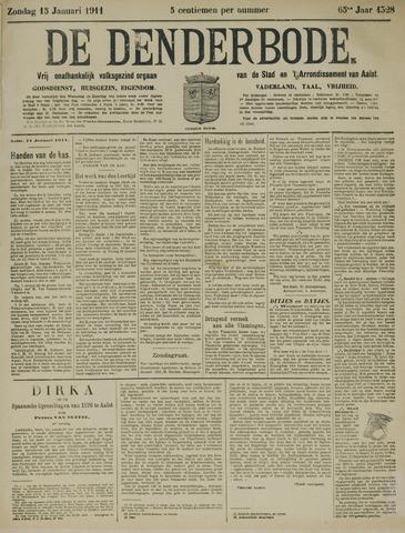 De Denderbode 1911-01-15